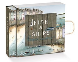 Fish and Ships (Limited Book) by Rebecca Lardner - Limited Edition Book sized 10x10 inches. Available from Whitewall Galleries